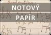 Muzia.cz | Notový papír